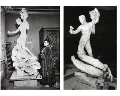 Perseo y Gorgona de Camille